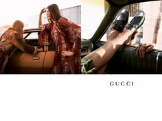 An image from Gucci's fall 2015 campaign