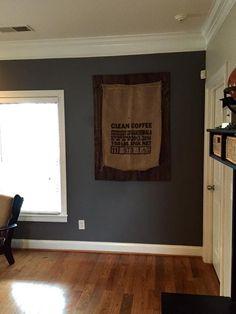 One of our custom OGDS backer board pieces (perfect for clocks, wreaths, frames or burlap coffee sacks!)  http://onegirldesignshoppe.com
