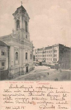 Timisoara - 1900 - Biserica din Piata Sfantul Gheorghe, aceasa a fost demolata in anul 1913 Taj Mahal, Dan, Buildings