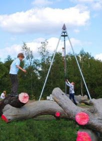 playscapes: Fairlop Waters Natural Playground, FoRM Associates, Redbridge, London, 2010