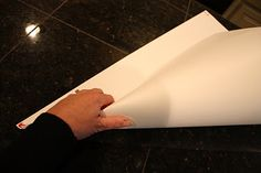 How to make poster board cones... she sells a template, but these are free directions! :)