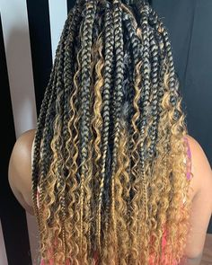 Terrific Free of Charge Box braids natural hair Thoughts Without a doubt, the times not really that long ago, when a expert African-American girl will not ha Box Braids Hairstyles, French Braid Hairstyles, Braided Hairstyles For Black Women, Baddie Hairstyles, Senior Hairstyles, Woman Hairstyles, Protective Hairstyles, Protective Styles, Braids With Curls