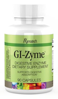 GI-Zyme Digestive Enzyme Dietary Supplement