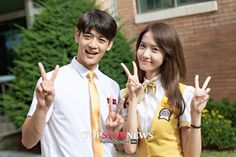 150926 Onstyle Drama 'Because its the First Time' SHINEE MinHo and SNSD Yoona