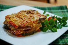 Lasanha de Berinjela e Abobrinha - Veganana