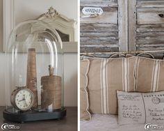 Jouant avec les styles et le mobilier et les objets anciens, Céline, passionnée de décoration, aménage sa maison de famille empreinte d'auth...