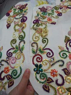 Best 11 Dulhe Raja mens wear pune kondwa Maharashtra khurshid shaikh 8554972391 – Page 273382639864378333 Zardozi Embroidery, Bead Embroidery Patterns, Tambour Embroidery, Hand Work Embroidery, Bead Embroidery Jewelry, Embroidery Fashion, Silk Ribbon Embroidery, Hand Embroidery Designs, Tambour Beading