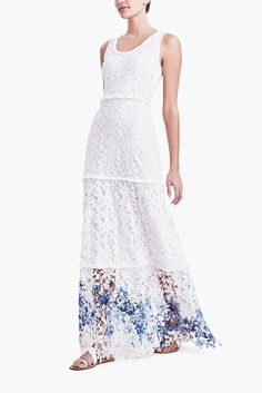 Elie Tahari ADELAIDE MAXI DRESS IN LACE STYLE: E5091606