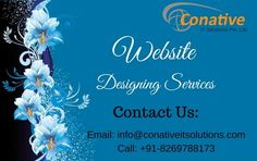 Have A Look On Website Design Services Indore – Conative IT Solutions  We are offering Website Design Services Indore. We provide the unique and responsive design services at all over the world with complete perfection. We have skilled and expertize professionals for several works like Logo,Template,Icon,Brochure,Banner and Webpage Designing.  For More Information:  Email: info@conativeitsolutions.com Call: +91-8269788173 Visit: http://www.conativeitsolutions.com/