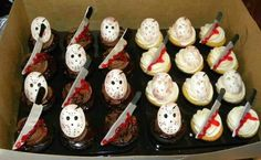 Friday the 13th cupcakes