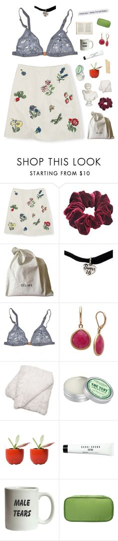 """seattle breeze"" by starry-nostalgia ❤ liked on Polyvore featuring Boden, Wild Pair, CÉLINE, Yves Saint Laurent, Gat Rimon, Lonna & Lilly, L'Occitane, Dot & Bo, Bobbi Brown Cosmetics and Jayson Home"