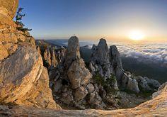 Ai-Petry,Crim, Russia Самые красивые места Крыма, которые стоит посетить