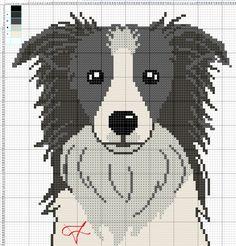 Cross Stitch Charts, Cross Stitch Patterns, Especie Animal, Cross Stitch Animals, Hama Beads, Plastic Canvas, I Love Dogs, Cross Stitching, Snoopy
