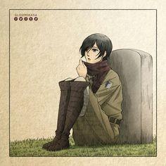 [Mikasa] Shingeki no kyojin (進撃の巨人) Attack on titan Attack On Titan, Still Frame, Eremika, Romance, Wattpad, Doujinshi, Manga, Gallery, Artist