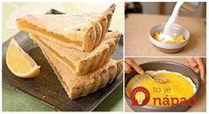 Na piatkové popoludnie sme si pre vás pripravili skutočnú lahôdku – delikátny citrónový koláčik sjemným smotanovým cestom aúžasnou ovocnou náplňou. Tú chuť si jednoducho zamilujete!  Potrebujeme:  250 g kyslej smotany    110 g roztopeného masla    1 lyžička jedlej sódy    2 šálky