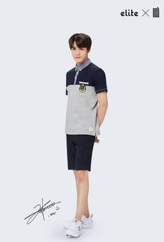 'Elite' school uniforms has released a brand new spring/summer pictorial featuring the sharply dressed boys of NCT 127 and NCT Dream!Both NCT gro… Jeno Nct, Na Jaemin, Summer School, Nct Dream, Taeyong, Nct 127, Jaehyun, K Idols, School Outfits