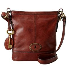 LEATHER Picture Bags | ... › Handbags › Fossil Vintage Re-Issue Russet Brown Leather Bag