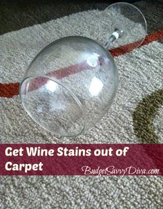 Get Wine Stains out of Carpet