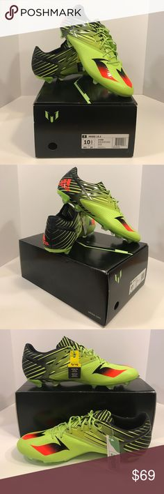 Adidas NWT Messi 15.2 Soccer Futbol Lionel Cleat Adidas soccer cleats! New/never worn! Reasonable offers accepted! Bundle for a private discount! adidas Shoes Athletic Shoes