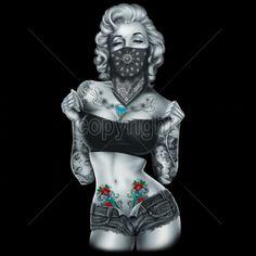 Beste Ideen Tattoo Girl Face Draw Marilyn Monroe - Beste Ideen Tattoo G. Marilyn Monroe Tattoo, Marilyn Monroe Wallpaper, Marilyn Monroe Photos, Marilyn Monroe Decor, Marilyn Monroe Drawing, Playboy Tattoo, Tattoo No Peito, Jimi Hendricks, Arte Lowrider