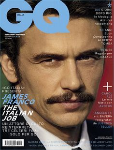 James Franco Delivers a Serious Gaze for GQ Italia Cover, Talks Porn