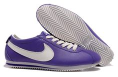 reputable site c2142 a232a Find Hot Nike Cortez Leather Women Shoes Dark Purple White online or in  Footlocker. Shop Top Brands and the latest styles Hot Nike Cortez Leather  Women ...