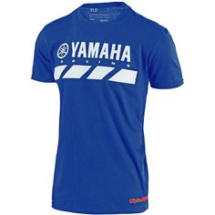 Troy Lee Designs Yamaha RS2 T Shirt - Blue