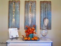 Decorating For Fall - A Peek From My Porch   RefreshHer