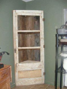 Creative Idea To Repurpose An Old Door