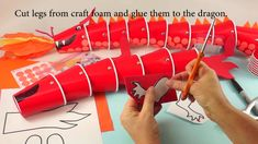 Dragon Cup Puppet Craft