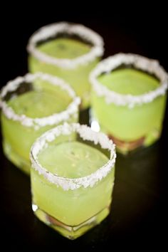 If you can make jello, you can make these bright colored shots that will catch your guests' eye from across the room.