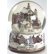 Johnson Brothers Friendly Village Collectibles Snow Globe, Fine China Dinnerware