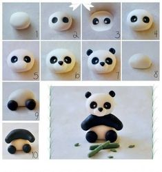 How to make modeling clay with children - step by step patterns - Anniversaire - Kuchen Dekorieren - kuchen kindergeburtstag Fondant Cake Toppers, Fondant Figures, Cupcake Toppers, Fondant Cakes, Cake Fondant, Cupcake Ideas, Polymer Clay Animals, Polymer Clay Crafts, Polymer Clay Figures