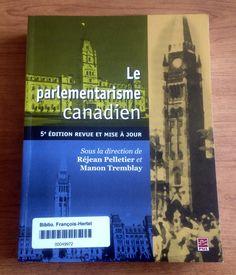 Le parlementarisme Canadien