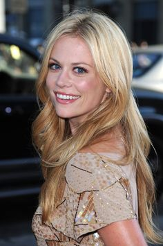 Adalind Schade (Claire Coffee) - Grimm. Her hair looks about the same texture and thickness as mine.