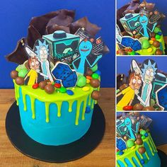 "794 Likes, 11 Comments - JusticeMerch (@justicemercher) on Instagram: ""from @cakesbykyla #rickandmorty #rick #morty #drizzle #drip #cake #cakes #cbk #cakesbykyla…"""