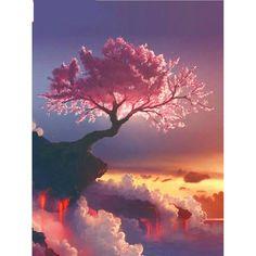Sakura Tree Diamond Painting  Price: 15.68 & FREE Shipping  #hashtag1 Diamond Drawing, 5d Diamond Painting, Diamond Art, Scenery Paintings, Easy Paintings, Painting Frames, Poster One Piece, Classic Artwork, Mosaic Flowers