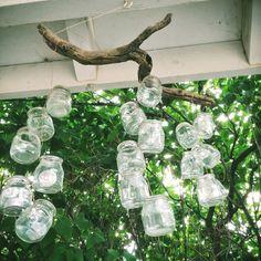 tea light chandelier