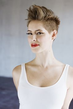 Dangerkat's awesome undercut ... up...- Want to save 50% - 90% on women's…