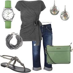 Casual Capris, created by christa72 on Polyvore