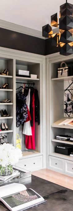 Showcase Interior Design for Dressing Room & Closets Girls Dressing Room, Dressing Room Closet, Dressing Room Design, Closet Bedroom, Dressing Rooms, Master Closet, Girls Dream Closet, Dream Closets, Walk In Closet