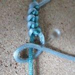Une technique pour faire un noeud serpent