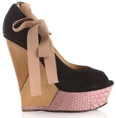 Summer Wedge Heels