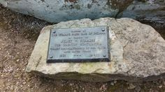 Juliet V. Strauss Memorial marker