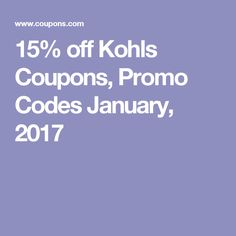 12 Best Kohls Promo Codes Images 20 Off Coupon Codes Curtains