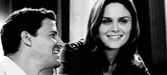 Photo of Booth and Bones ♥ for fans of Booth and Bones. Bones Series, Bones Tv Show, Booth And Bones, Booth And Brennan, Kathy Reichs, Bones Quotes, Fox Tv Shows, Series Movies, Tv Series