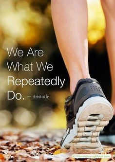 """We are what we repeatedly do. Excellence, then, is not an act, but a habit."" - Aristotle #Motivation #Quotes #Fitness https://www.musclesaurus.com https://www.musclesaurus.com"