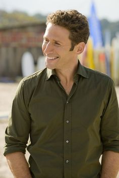 Mark Feuerstein in Royal Pains as Dr. Hank Lawson.  Love his bedside manner and would love to be his patient!!