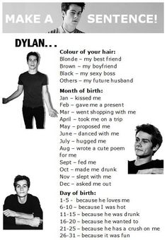 I got Dylan my boyfriend hugged me because I was hot :) <3