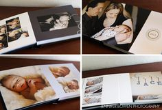 newborn baby album ©jenniferbowen